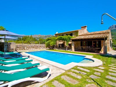 Photo for Pollenca Villa, Sleeps 8 with Pool and Air Con
