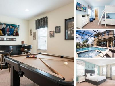 Photo for EC118 - 5 Bedroom Pool Home - Encore Reunion