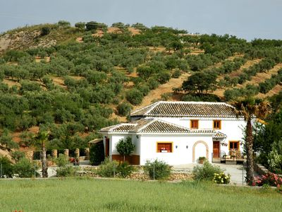 Photo for Semi-detached cottage with private swimming pool, situated near Fuente Camacho