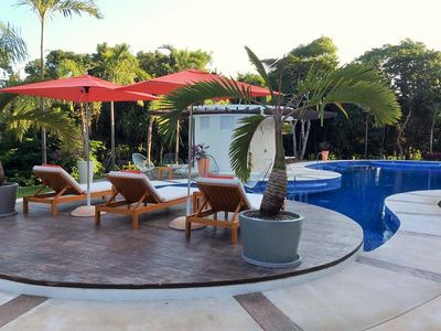 Photo for 2 King BR, luxury condo in 5-star Bahia Principe Resort & Golf -Akumal/Tulum