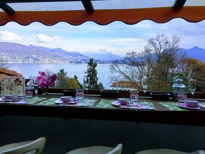 Photo for Alessia apartment in Baveno with three bedrooms and lake view