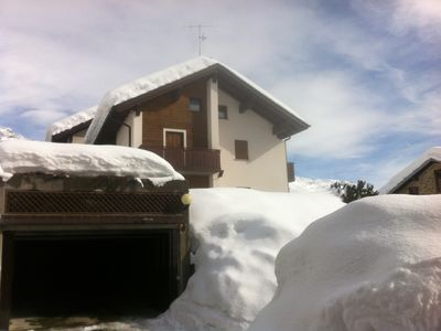 Photo for Holidays at the two huts of Oga - Bormio- &