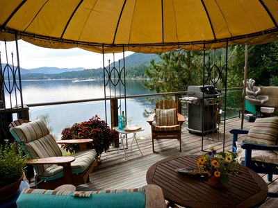 Photo for Lakefront Cedar Cottage on Christina Lake, BC
