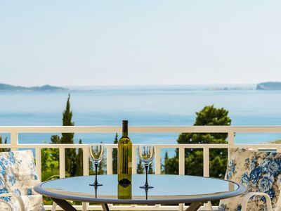 Photo for PENDO 2 apartment with sea view, near beaches and Dubrovnik