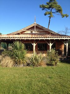 Photo for Cap Ferret Villa wood 'Spirit hut'! Grand Piquey Near the beach