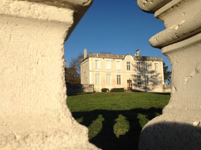 Photo for Chateau Apartment With Large Terrace Set Within Managed Grounds With Heated Pool