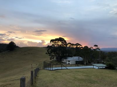 Photo for Woodlands Cottage on an operating farm  - relax, unwind and take in the view