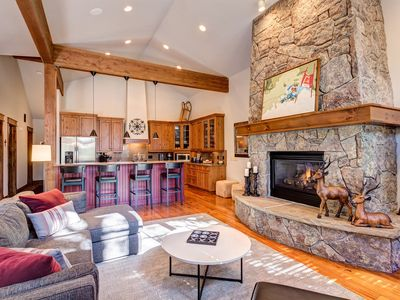 Photo for Walk to Town and Gondola - Luxury Vacation Home with Private Hot Tub