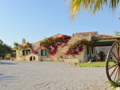 Photo for Farmhouse between fauna and flora, pool, terraces and views of the Majorcan countryside