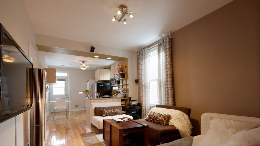 Montreal superbe appartement meubl tout confort for Appartement meuble montreal