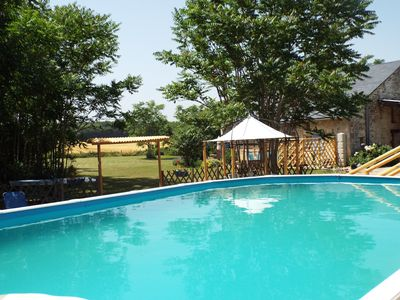 Photo for Sunrise Cottage & pool, tranquil place, walking distance to bars and restaurants