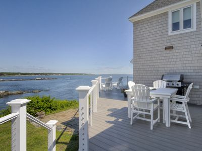 Photo for Perfect Maine Cottage with spectacular ocean and lighthouse views