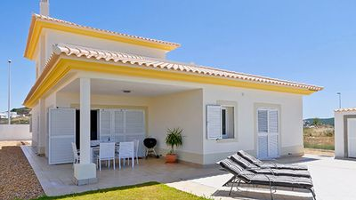 Photo for Luxury Air Conditioned Villa On Private Electric Gated Plot With Own Pool &