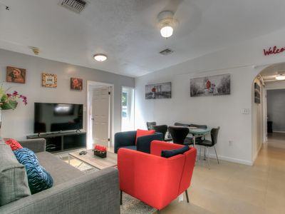 Photo for AMAZING HOLLYWOOD RETREAT..4 BEDROOMS 2 BATH PRIVATE HOME..