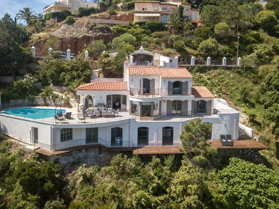 Photo for Luxury 5 Bedroom Villa with Panoramic views of Cannes and Theoule-Sur-Mer