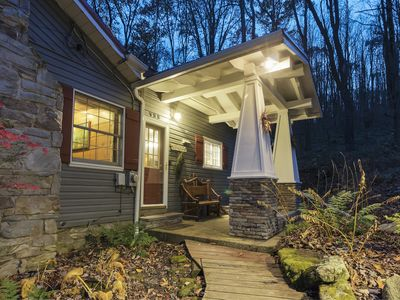 Photo for Craftsman Style  Mountain Cottage Overlooking Trout Stream