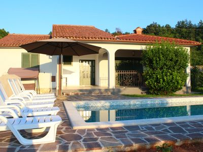 Photo for Charming Villa Amaryllis for 8 with Istrian tavern & private pool