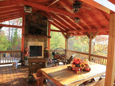 Photo for Stunning expansive mountain views - 3 King Bedrooms, 3 Baths, privacy