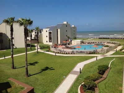 Photo for OceanView 3 BR/3 Baths Condo, Best Beachfront Resort In SPI, 2 Pools, Beach Deck