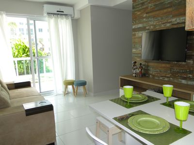 Photo for Palm Village Aqua - apt ground floor - pool view