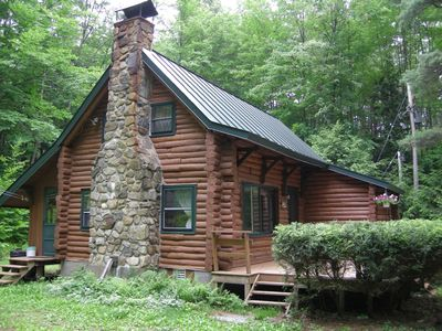 Photo for 3BR Cabin Vacation Rental in Lake Luzerne, New York