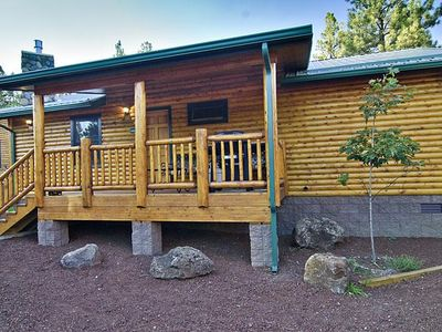 Photo for 1100 SQ FT OF HEAVEN, RIVERBEND CABIN #105. Pet Friendly