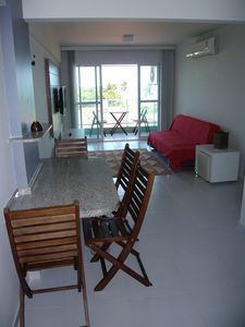 Photo for Well equipped apt with sea view