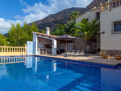 Photo for Apartment Los Pinos - Amazing views with a private 10m x 5m pool