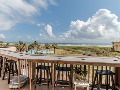 Photo for Recently Remodeled Third Floor Two Bedroom Condo Overlooks the Gulf of Mexico and Tropical Pools