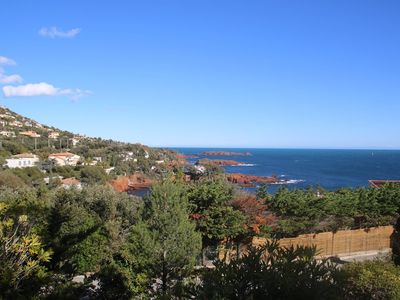 Photo for Agay- Saint Raphaël French Riviera sea view 6 persons