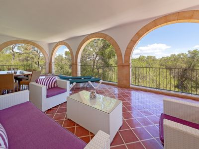 Photo for Idyllic location in the nature reserve - Casa Rosa