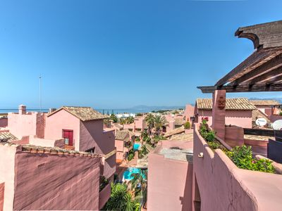 Photo for Amazing 3 bedroom penthouse one step away from one of Marbellas best beaches