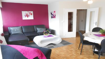 Photo for Beautiful apartment in Rouen + PARKING