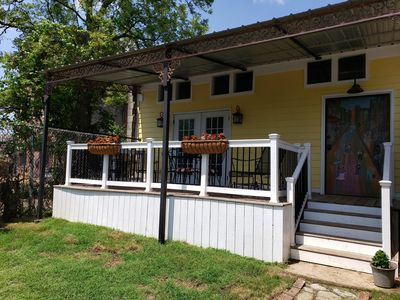 Photo for The Cottage of Historic South Main Arts District, Walk Everywhere Downtown