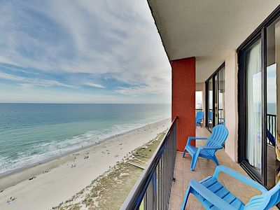 Photo for Top-Floor Beach Colony Condo w/ Ocean Views - Pools, Hot Tubs, Lazy River