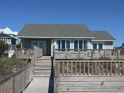 Photo for Oceanfront Home in Emerald Isle with Excellent Ocean Views!