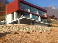 Amazing modern house with spectacular views of the lake and mountains!!!