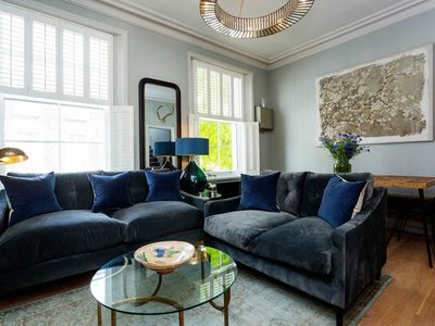 Photo for Elegant 2BR Apartment with terrace in lovely Primrose Hill area, by Veeve