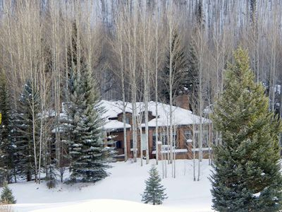 Photo for Private hot tub on Vail Golf Course, 1 mile to Vail Village, great for groups