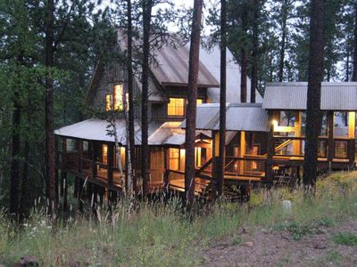 Photo for Mineral Mountain Lodge - New Cabin With Shared Swimming Pool And Private Hot Tub