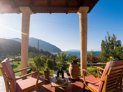 Photo for This beautiful  home is located in the picturesque village of  Poros,