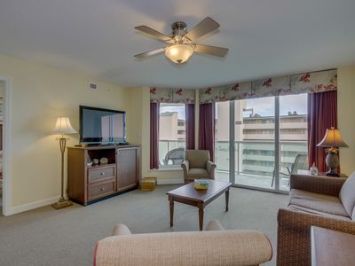 Photo for 2nd row condo, great ocean views, tons of amenities, close to everything