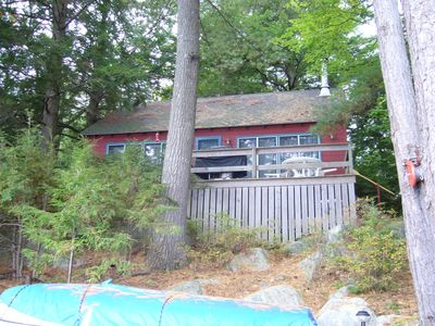 Photo for Charming Cottage in Quiet Setting on Lake Winnipesaukee