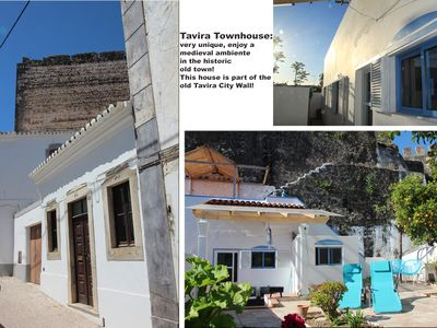 Photo for Tavira Townhouse with garden and roof terrace and plenty of space. In the old City!