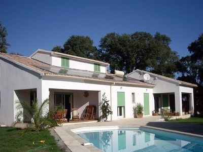 Photo for Large new villa close to beach with private pool