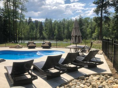 Photo for Two Home Cle Elum River Estate - Private Pool - Hot Tubs