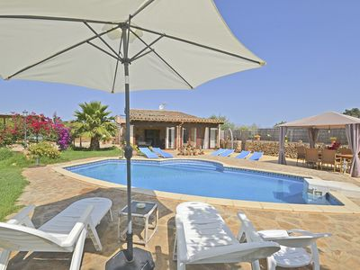 Photo for CAPBAIX, Country house wit swimming pool for 6 people in Sineu