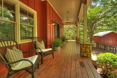 Welcoming Front Porch, Main Level
