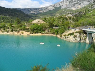 Photo for GORGES DU VERDON 150m from the LAKE ST CROIX RENT HOUSE
