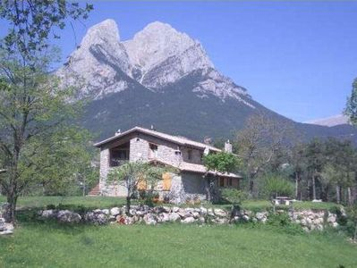 Photo for Self catering cottage Cal Mianet for 10 people